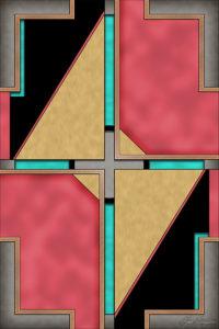 Quad - Geometric Art Deco Design by Ryan Livingston
