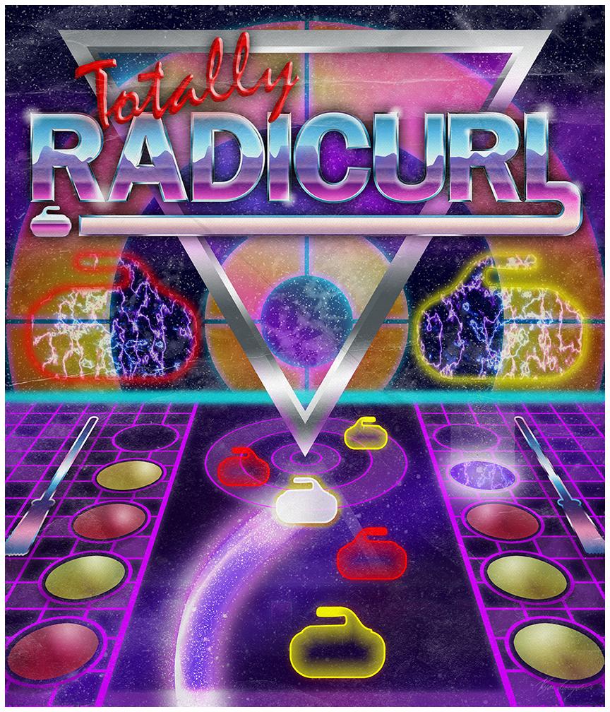 Radicurl Poster tee lowrez
