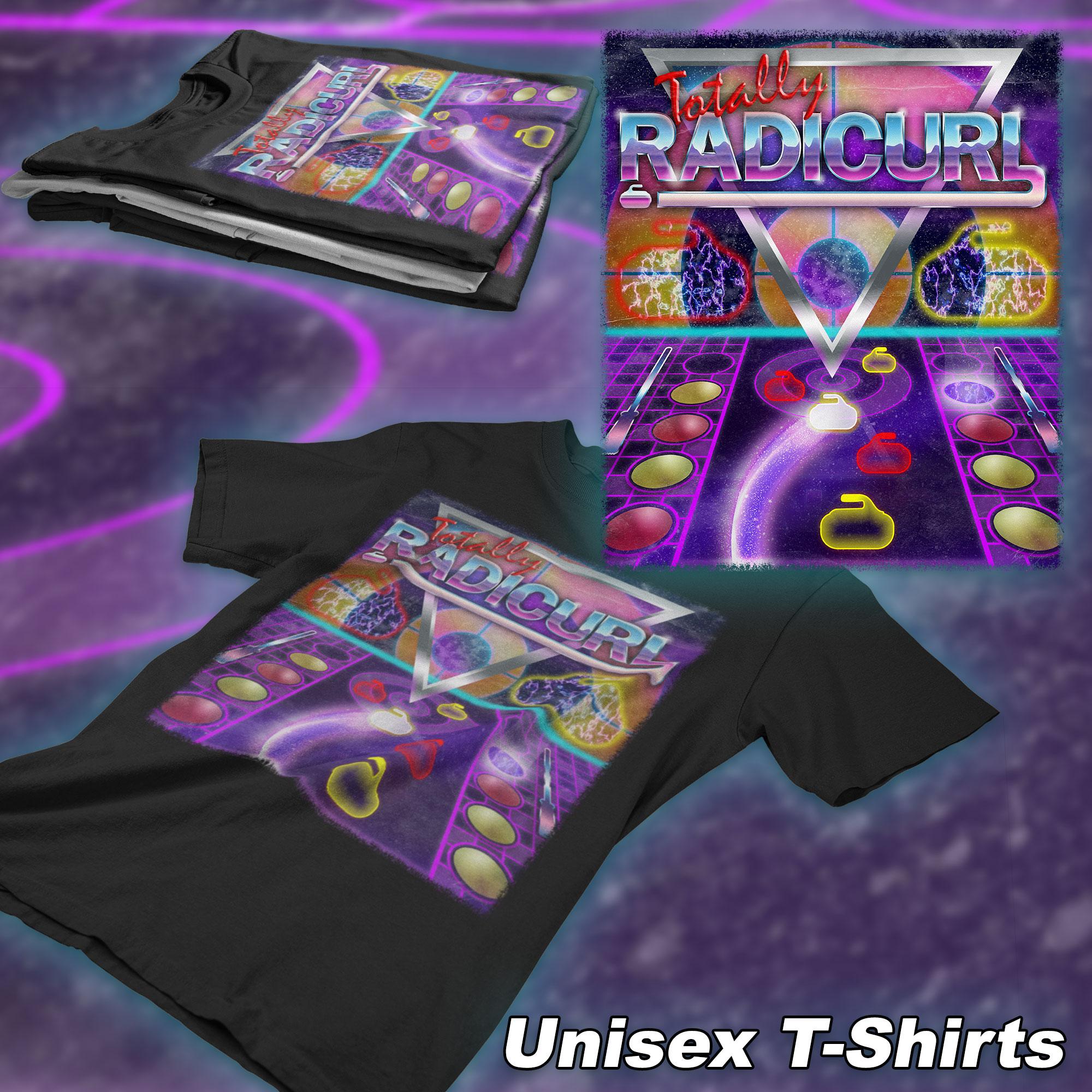 Radicurl-t-shirt